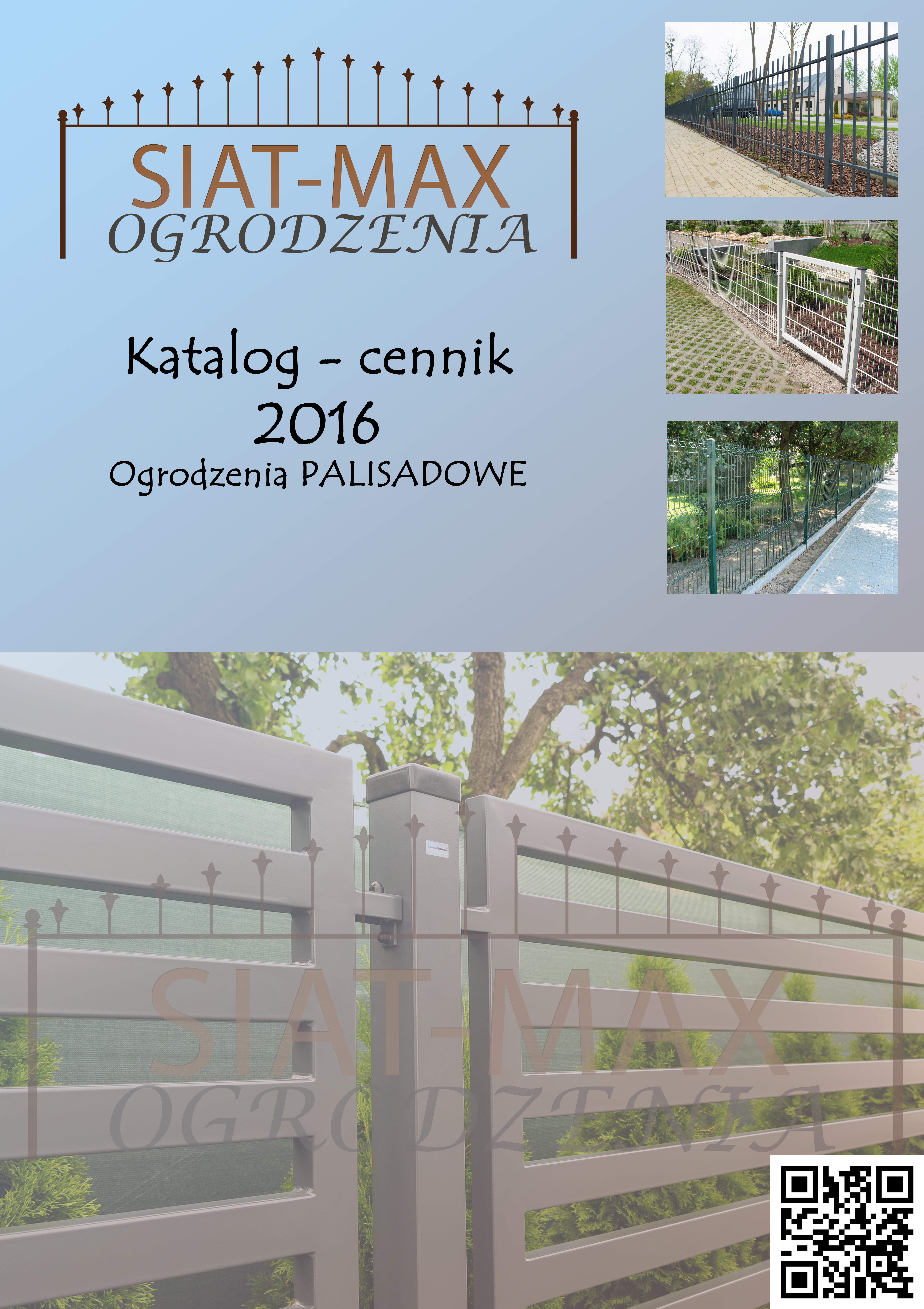 Okładka przód PALISADY 2016
